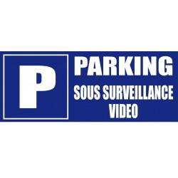 Parking sous surveillance vidéo
