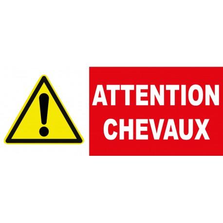 """Panneau danger """"Attention à la marche"""""""
