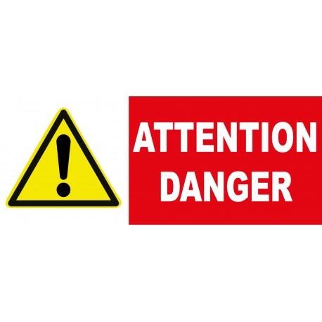 "Panneau danger ""Attention circulation d'engins"""