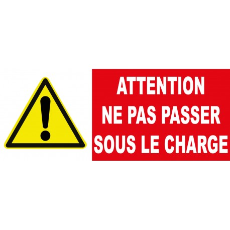 "Panneau danger ""Attention danger"""