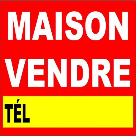 """Panneau alvéolaire  """" maison a vendre """""""