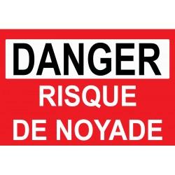 Danger risque de noyade