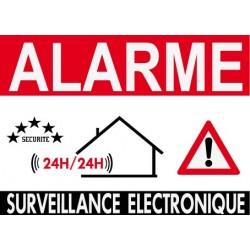 Alarme surveillance électronique 24H/24