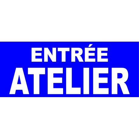 """Panneau """"Atelier"""""""