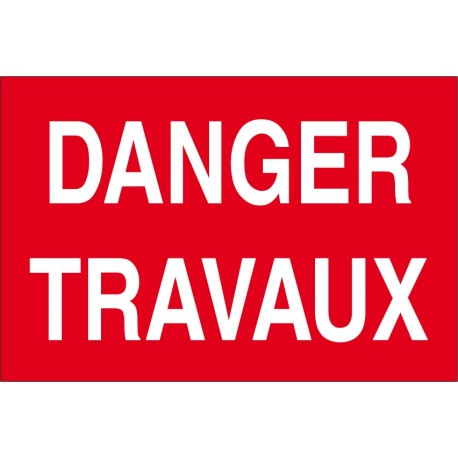 Danger travaux