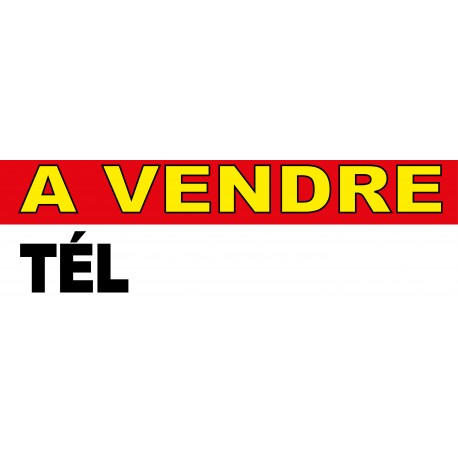 Banderole a vendre 1000x300mm