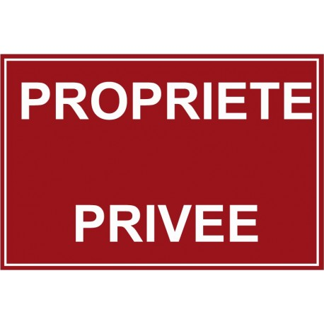 Propriète privé
