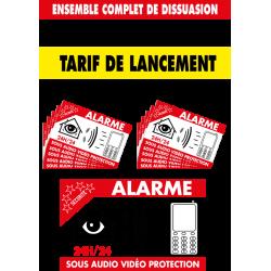 Alarme vidéo protection