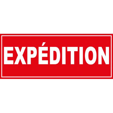 Panneau expédition