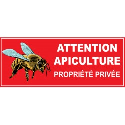 Attention apiculture propriété privée