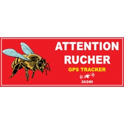 Attention rucher tracker gps