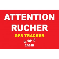 Attention rucher sous surveillance gps