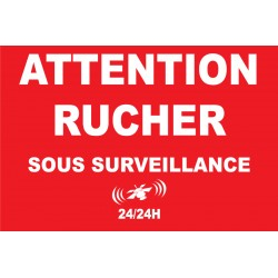 Attention rucher sous surveillance 24h/24
