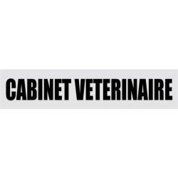 Plaque de porte cabinet vétérinaire