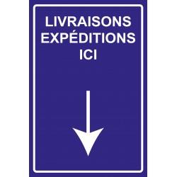 Livraisons expéditions ici