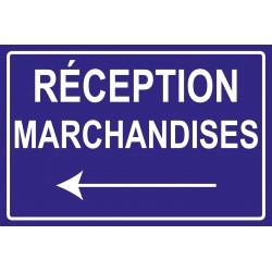 Réception marchandises à gauche
