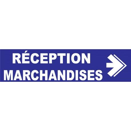 Réception marchandises à droite