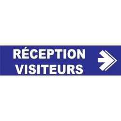 Réception visiteurs à droite