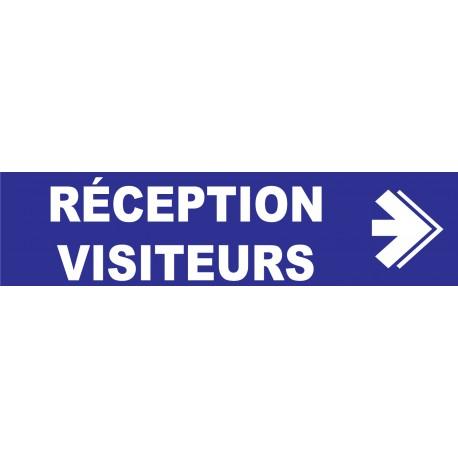 Réception visiteurs à gauche