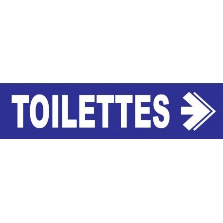 Toilettes à droite