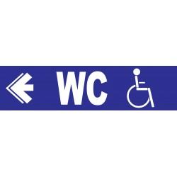 WC handicapés à gauche