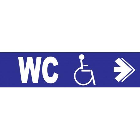 WC handicapés à droite