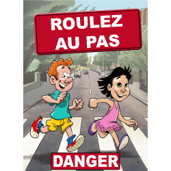 Attention aux enfants danger