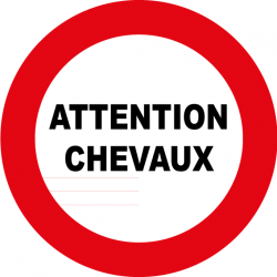 Attention chevaux