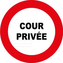 Cour privée