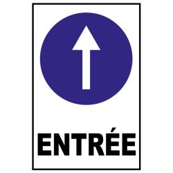 Direction entrée