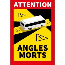 Adhésif angle mort pour bus