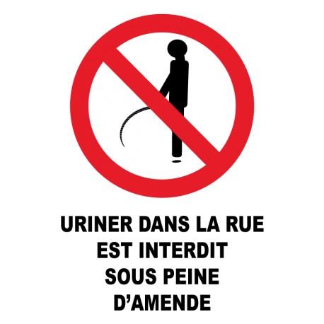 Merci de ne pas uriner sur notre porte