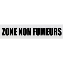 Plaque de porte Zone non fumeurs