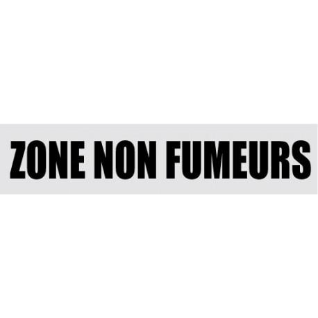 ZONE NON FUMEUR