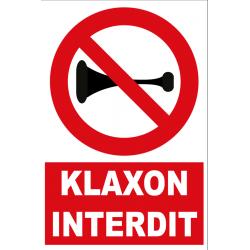 Klaxon interdit