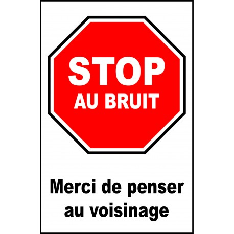 Stop au bruit