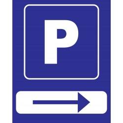 Parking direction gauche