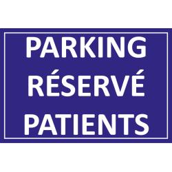 Parking réservé patients