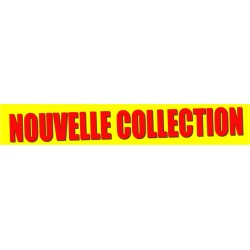 Banderole Nouvelle collection