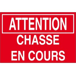 Attention chassen a cours