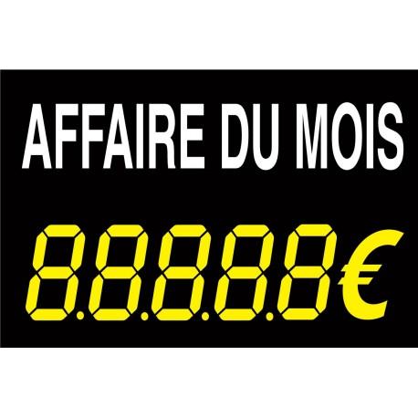 """Panneau de vente """"affaire du mois"""""""