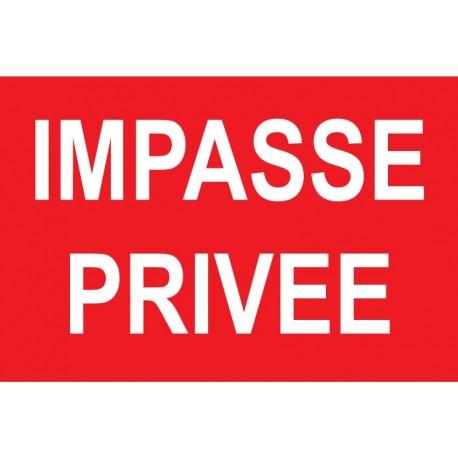 Impasse privée 160X115mm