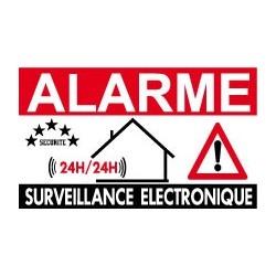 Alarme surveillance électronique 24/24h                  (lot de 6p)