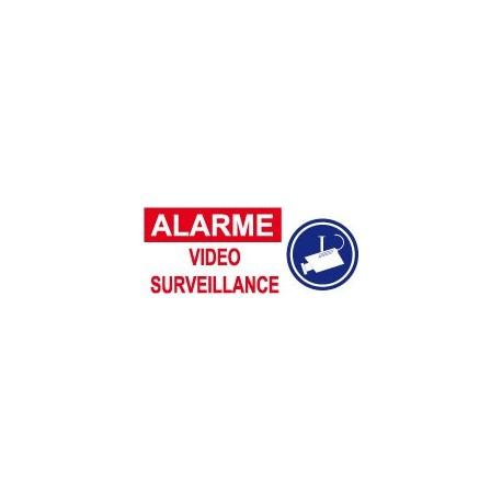 Alarme vidéo surveillance (lot de 6p)