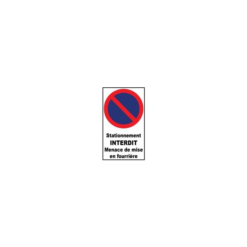stationnement interdit menace de mise en fourri re. Black Bedroom Furniture Sets. Home Design Ideas