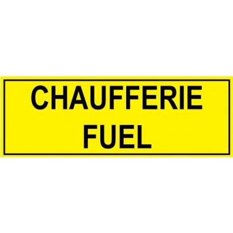 Chaufferie fuel