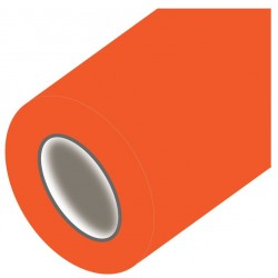 Adhésif de décoration de couleur orange