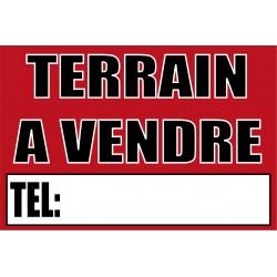 Pancarte Terrain à vendre