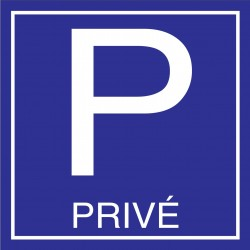 Parking privé 500x500mm