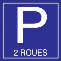 Parking 2 roues 500x500mm
